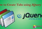 JQuery UI tabs