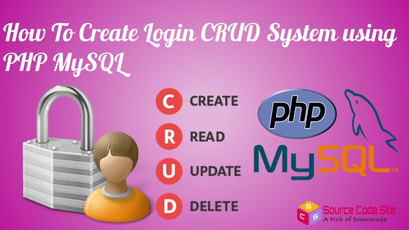 Login CRUD System using PHP MySQL