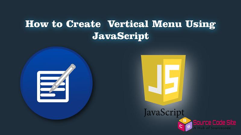 vertical menu