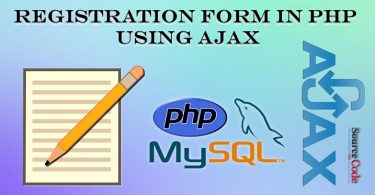 Registration Form in PHP using Ajax