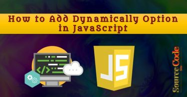 How to Add Dynamically Option in JavaScript