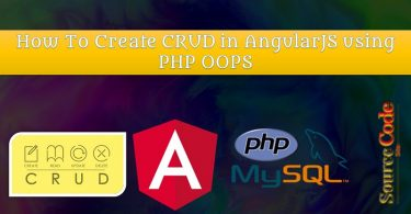 How To Create CRUD in AngularJS using PHP OOPS